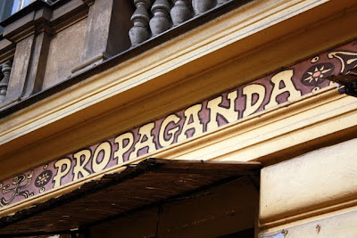 Propaganda bar in Prague
