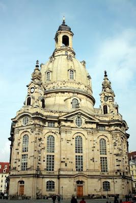 Frauenkirche in Dresden Germany