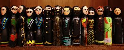Souvenirs at a shop in Jordan