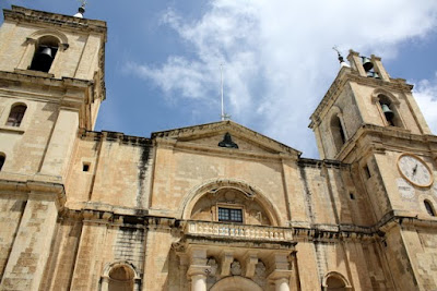 Valletta Cathedral in Malta