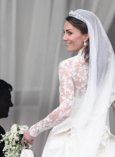 Detalles vestido de novia kate middleton