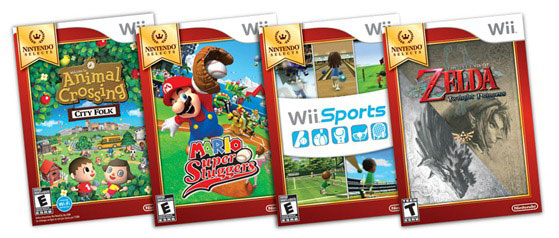 Nintendo Wii Select Games