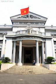 a museum in saigon