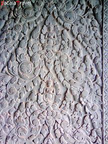 angkor wat wall pattern