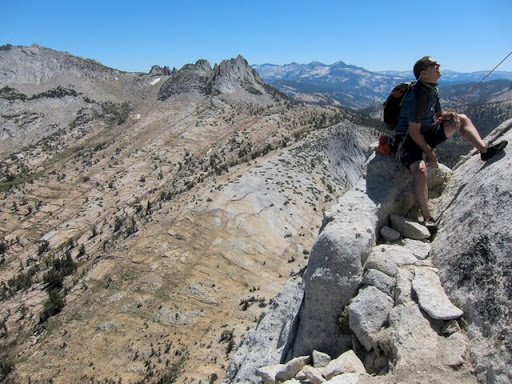 Another party on SE Cathedral Peak