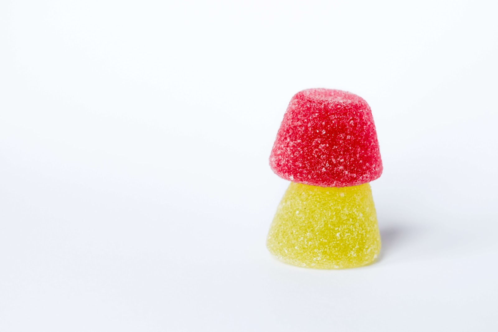 red yellow gummies