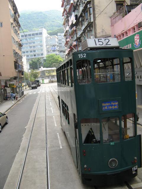The Tram from Western Market to Shun Kei Wan