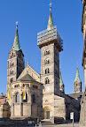 Bamberger Dom und Domumgebung