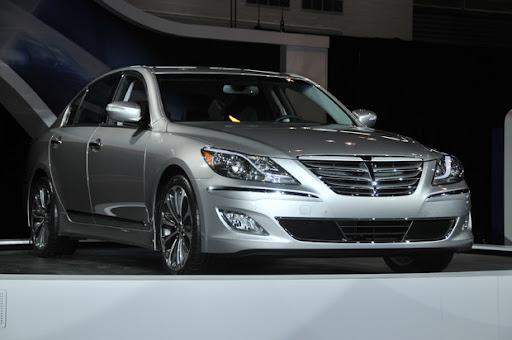 Новая модель hyundai genesis 2012 модельного