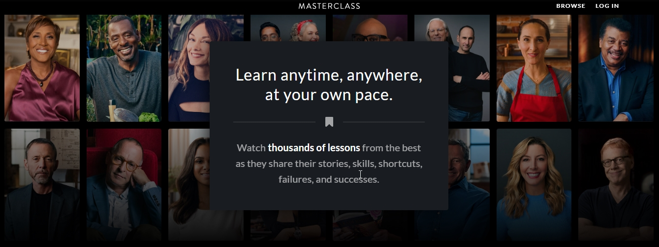 what is masterclass