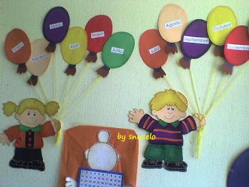 Decorados de SONIA UCELO ~ Educación Preescolar, la revista