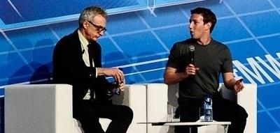 Mark Zuckerberg, Facebook Founder & CEO, at MWC 2014
