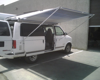 ... legs can go to the ground (as above) or to clips on the body like the Fiamma awnings. I like this but havenu0027t yet installed the clips onto my van body & Awnings on your van? - Expedition Portal