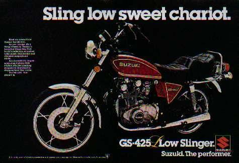 1979 Suzuki GS425L Low Slinger Ad 1 1979 suzuki gs 425l project thread page 4 1979 suzuki gs425 wiring diagram at nearapp.co