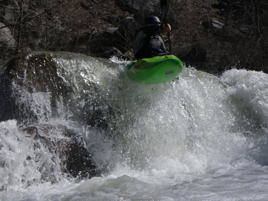 Brian Mansey on Carcas, Deckers Creek, WV.