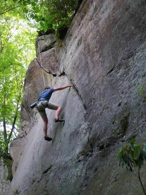Climbing in Morgantown
