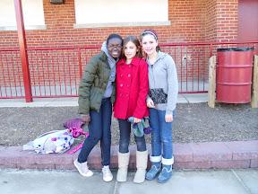 Binta Coulibaly, Maddie Nephew, Susana Perez