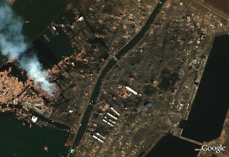 Yuriage in Natori (después del terremoto de Japón)