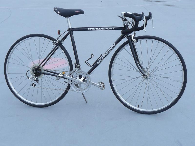 Found A Schwinn World Sport Need Help Re Building Bike Forums