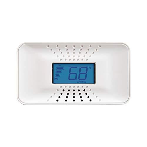 First Alert Carbon Monoxide Detector with 10-Year Battery and Digital...