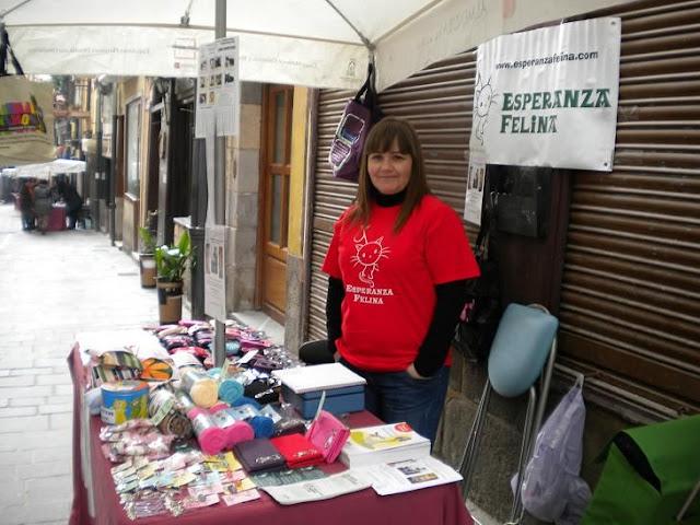 "Esperanza Felina en ""El Mercado de La Almendra"" en Vitoria DSCN4087"