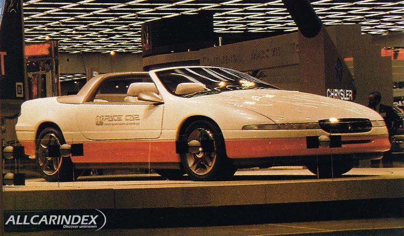 Chrysler Ppg Le Baron Pace Car
