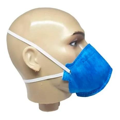10 máscara respirador descartável n95 pff2(s) sem válvula pro agro wps1227 azul delta plus - Máscara Respiratória - Magazine Luiza