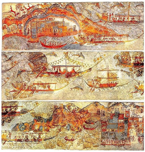 Фреска Морская экспедиция