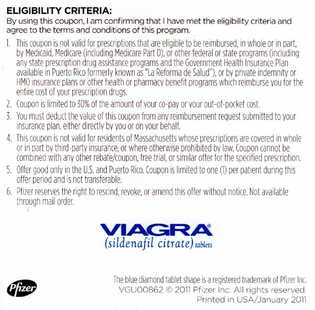 Viagra 3 free coupon