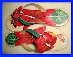 Paint Art Sandals