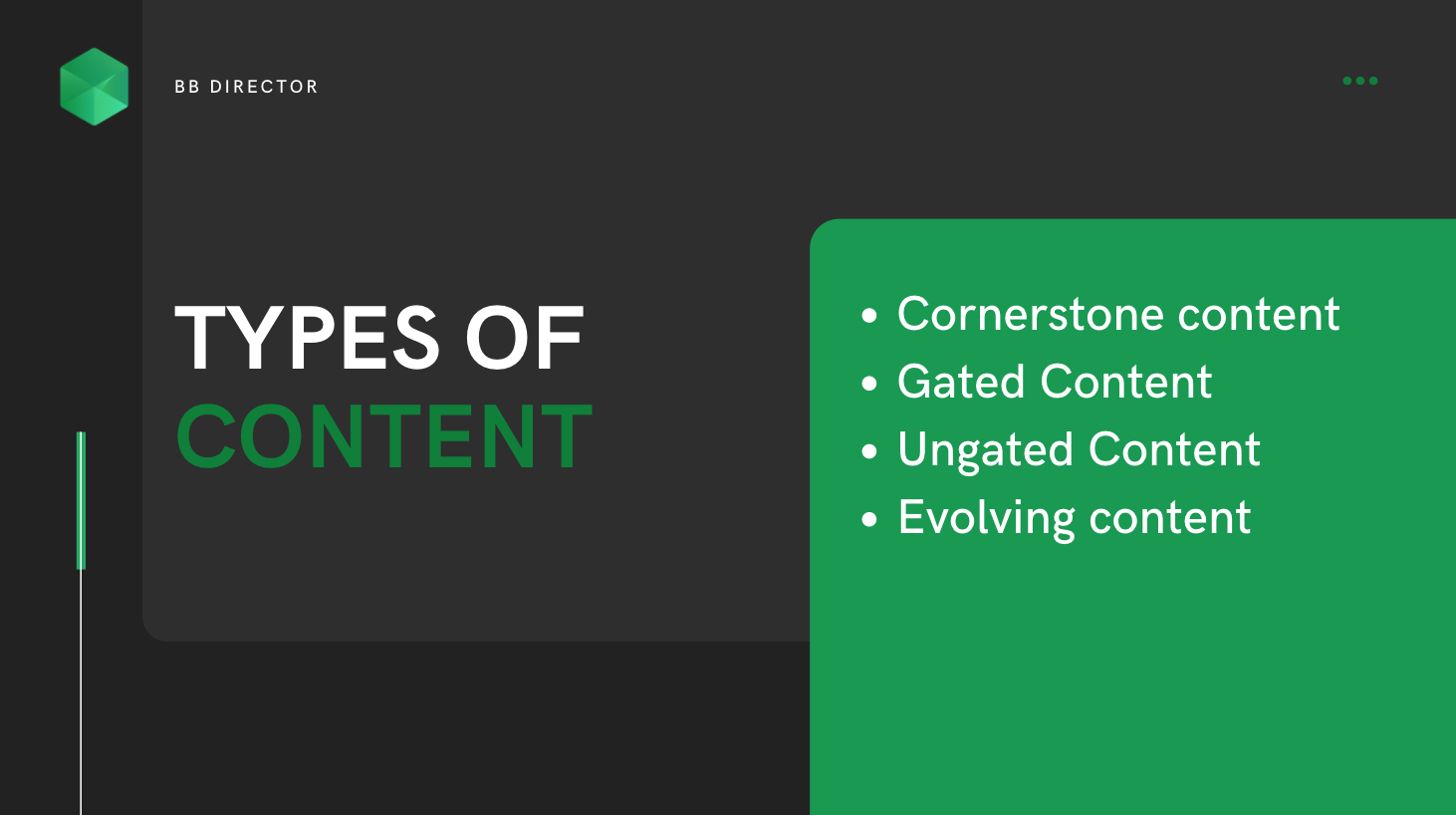 content production types