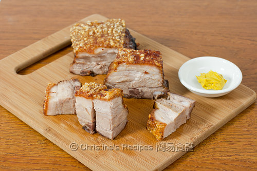 脆皮燒肉 Crispy Roast Pork Belly02