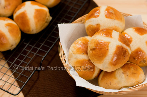 Hot Cross Raisin Buns02