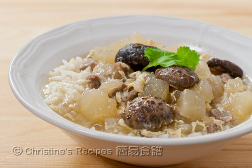 冬瓜粒泡飯 Rice in Winter Melon Soup