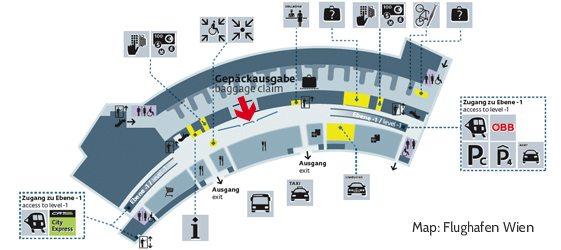 Аэропорт Вены - подробное руководство