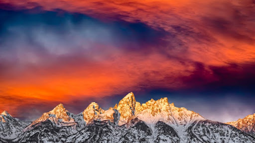 Glorious Sunrise, Grand Teton National Park, Wyoming - Copy.jpg