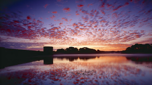 Vibrant Colors of Dawn, Guernsey, Channel Islands.jpg