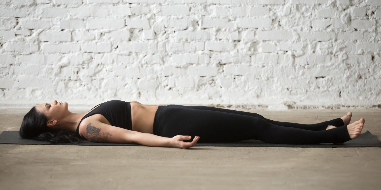 shavasana yoga for migraine