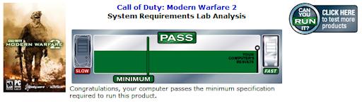 Modern Warfare ;)