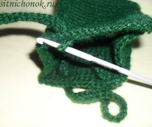 вязание крючком сумочки