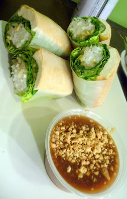 traditional spring/salad roll with tofu, Pho PDX, now Luc Lac Vietnamese, Portland, Oregon