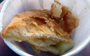 Whiffies food cart's fried pies