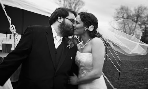 Stacie and Joe married at Cobblestone Farm in Ann Arbor