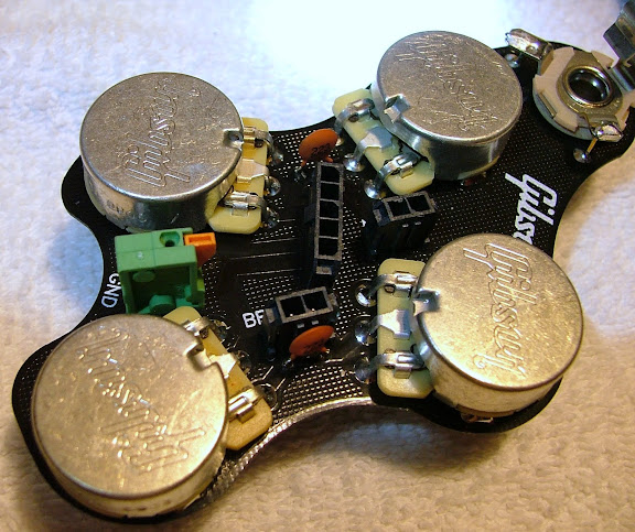 Upgrading Gibson pots... | The Gear Page
