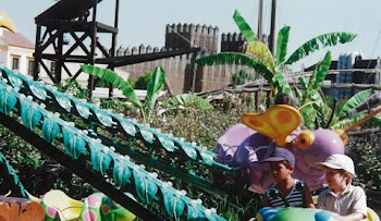 Atracción para niños en Isla Mágica