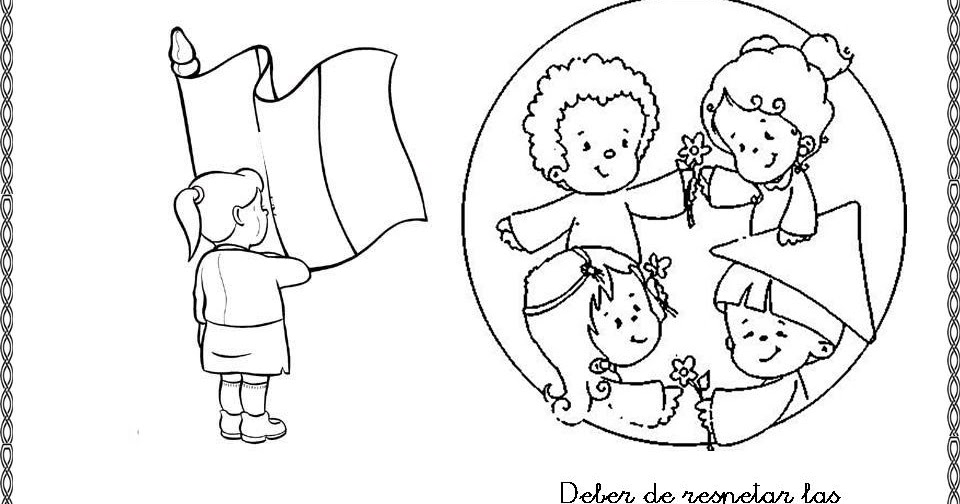 Dibujos De NiÑos Por Nacionalidades: Pinto Dibujos: Derecho De Tener Una Nacionalidad