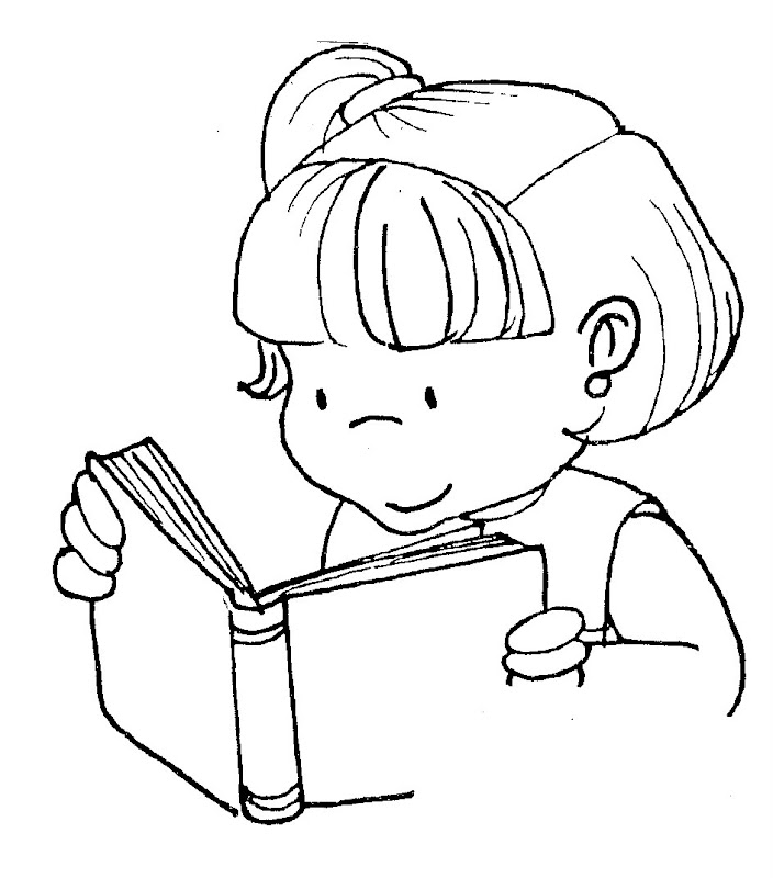 coloring pages about reading - read free coloring pages