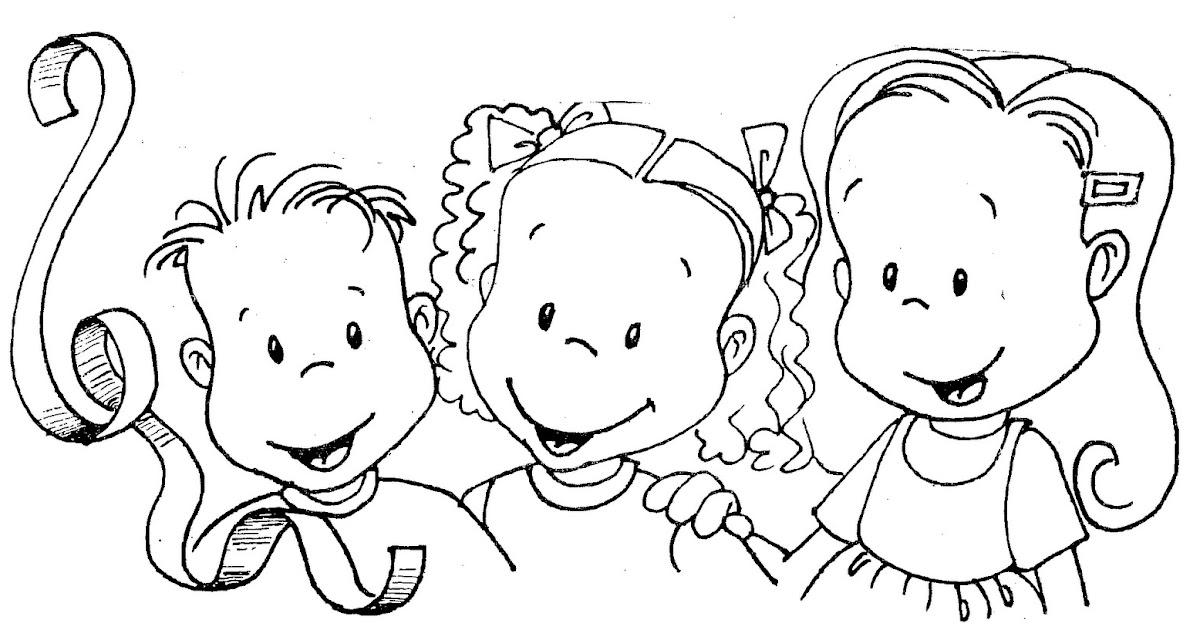 Pinto Dibujos Imagenes De Niños Felices Leyendo Para: Pinto Dibujos: Huercos Felices Para Colorear