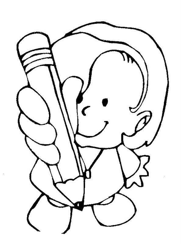 Pinto Dibujos: Te presto un lápiz para colorear