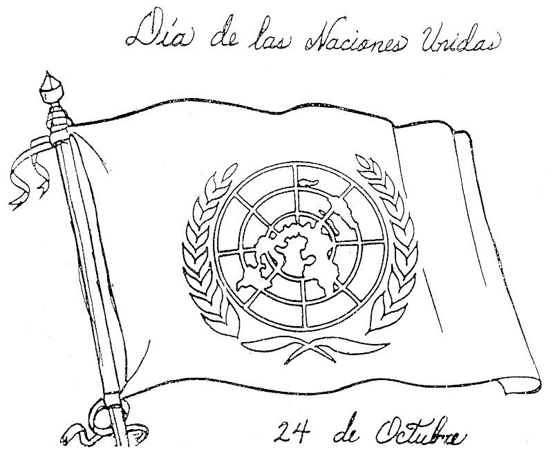 TE CUENTO UN CUENTO Dibujos para colorear para El Da de la ONU